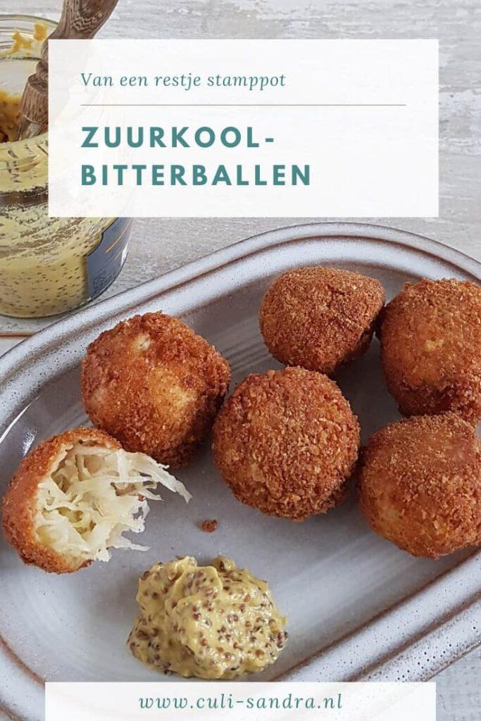 Recept zuurkool bitterballen