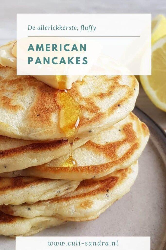 Recept American pancakes
