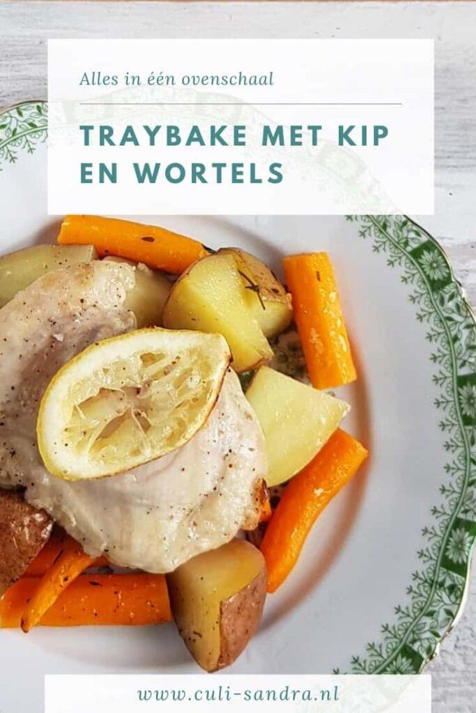 Recept traybake met kip