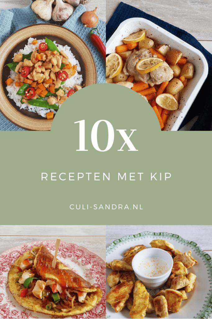 10x recepten met kip