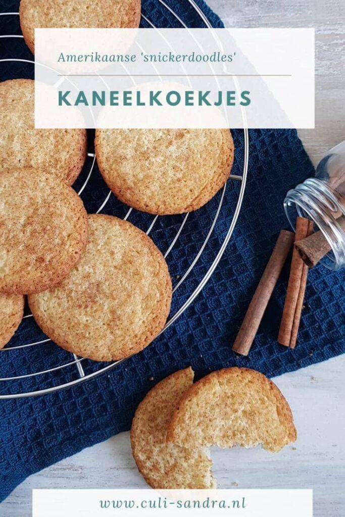 Recept kaneelkoekjes - Snickerdoodles