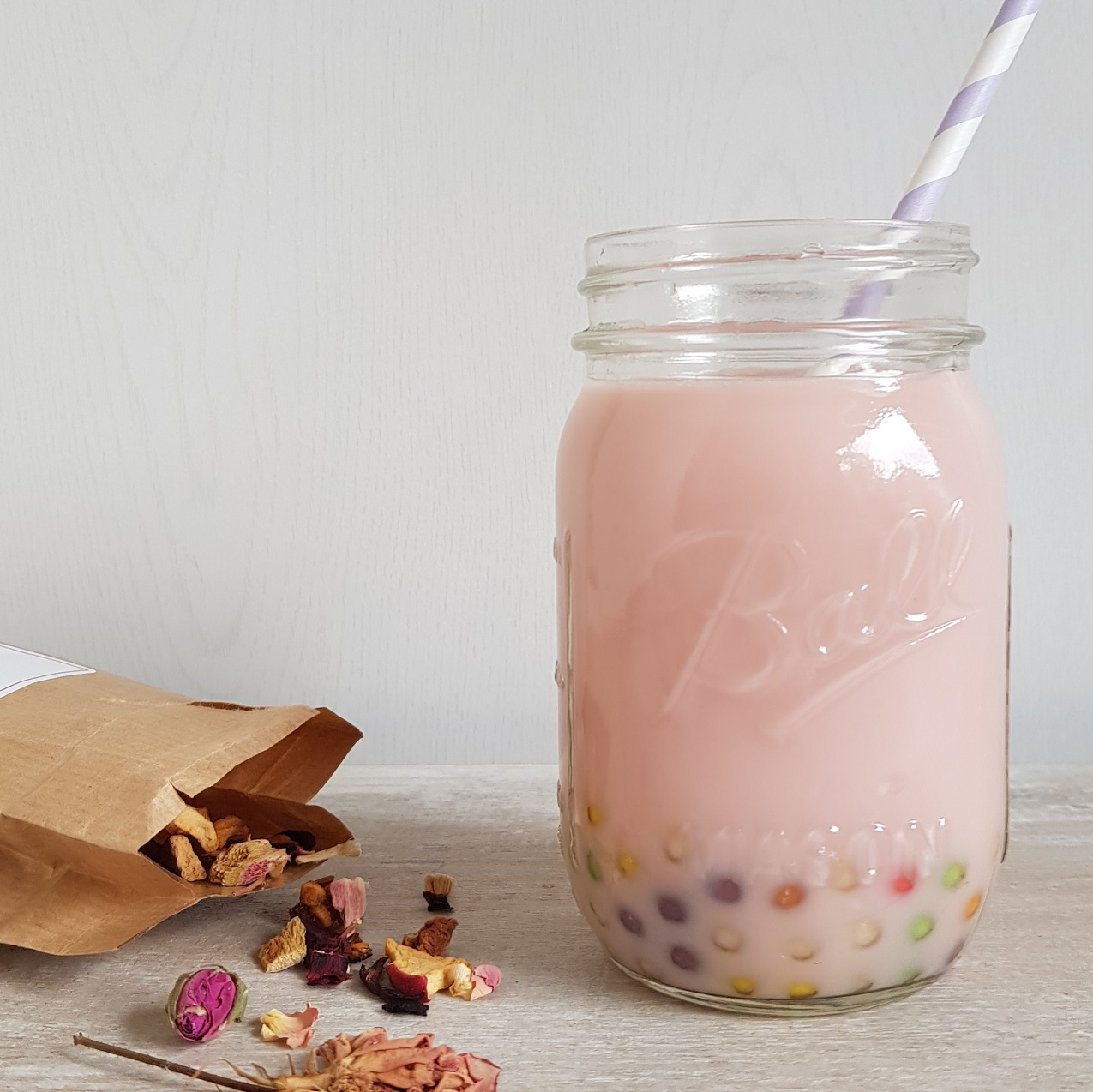 Bubble tea recepten - met rozen of met gember