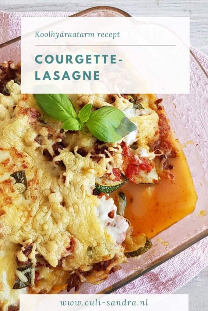 Recept courgettelasagne