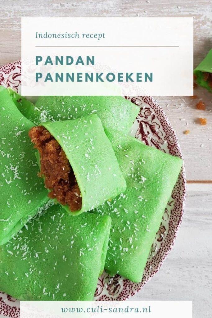 Recept pandan pannenkoeken
