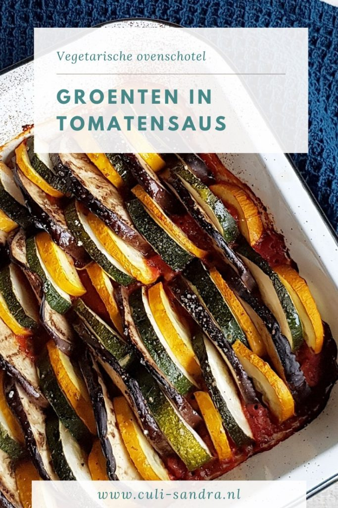 Recept groenten in tomatensaus