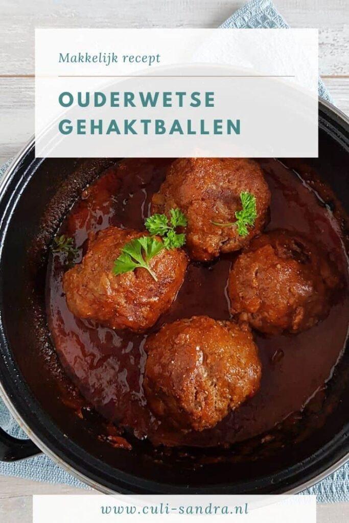Recept ouderwetse gehaktballen