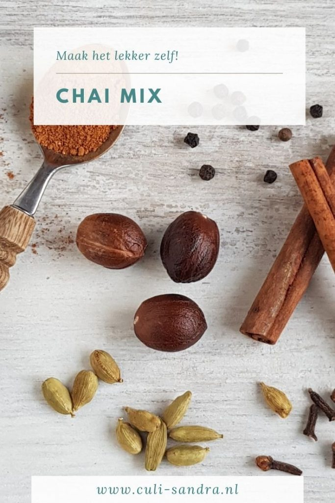 Recept chai mix