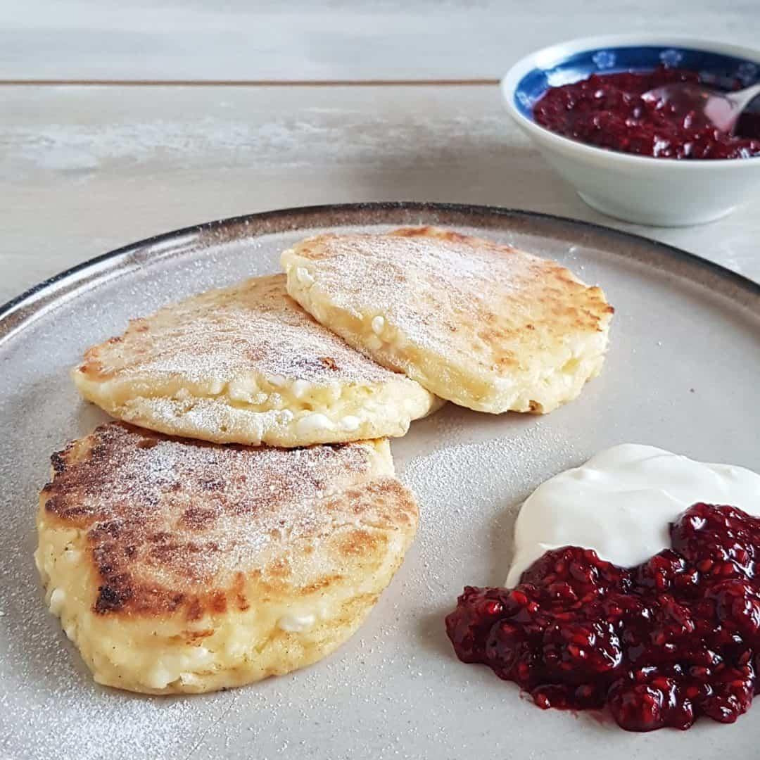 Cottage cheese pannenkoeken