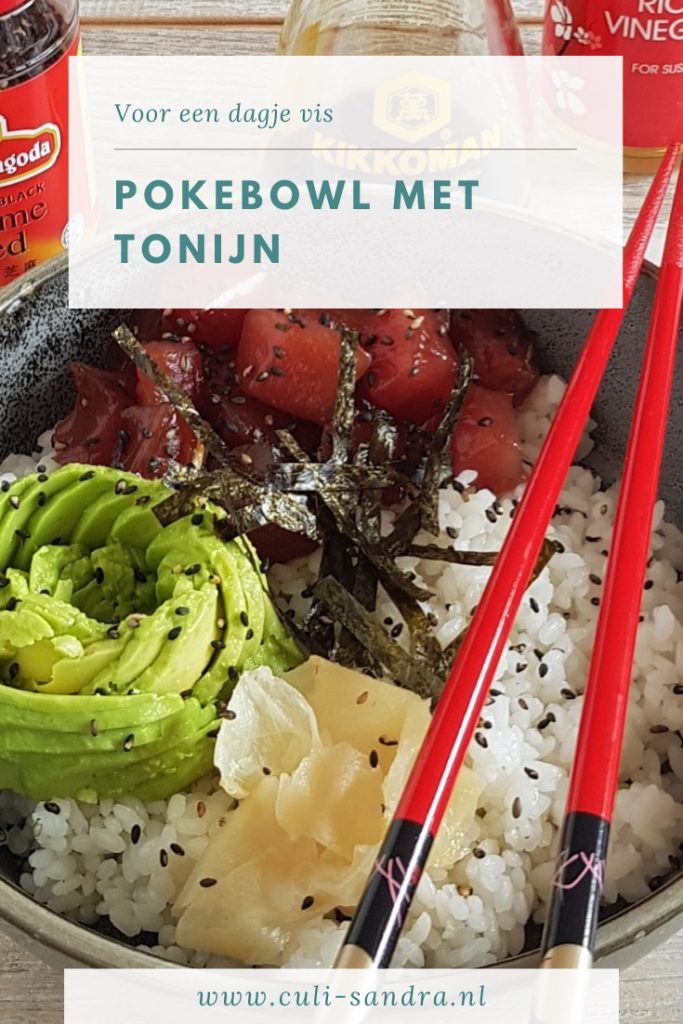 Recept pokebowl met tonijn