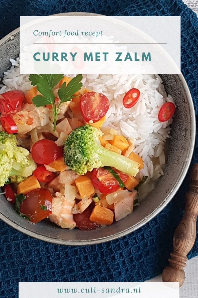 Recept curry met zalm