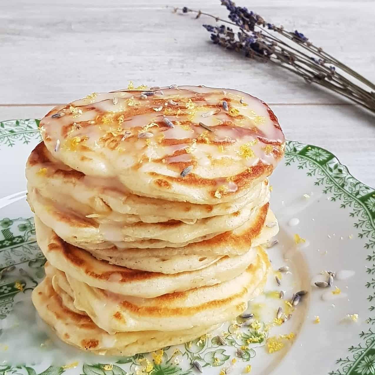 Lavendel pancakes