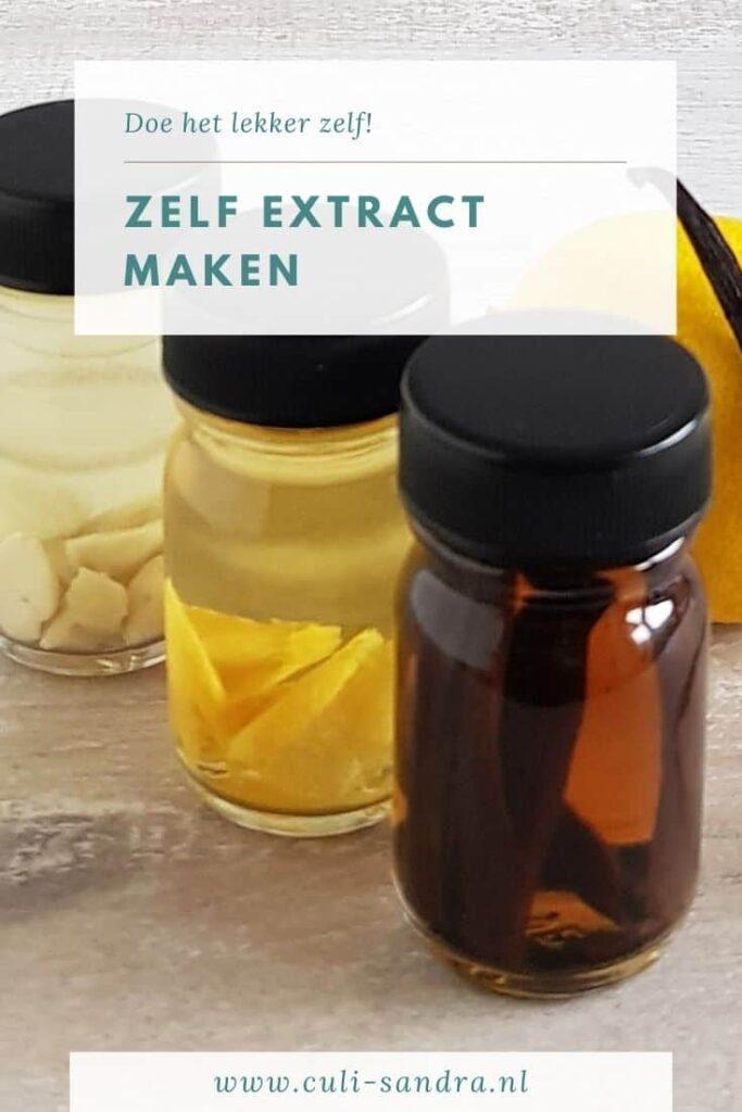 Recept vanille-extract