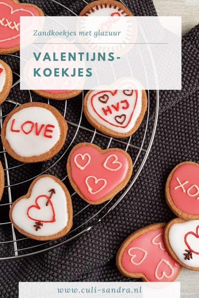 Recept valentijnskoekjes