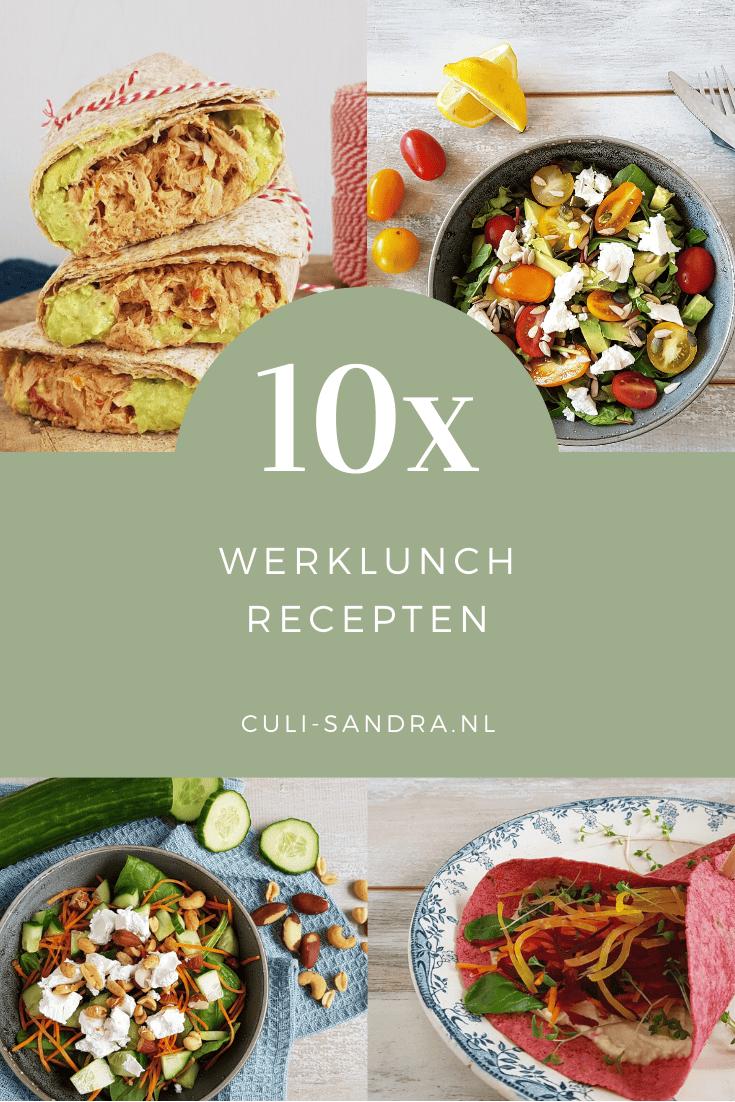 10x werklunch recepten