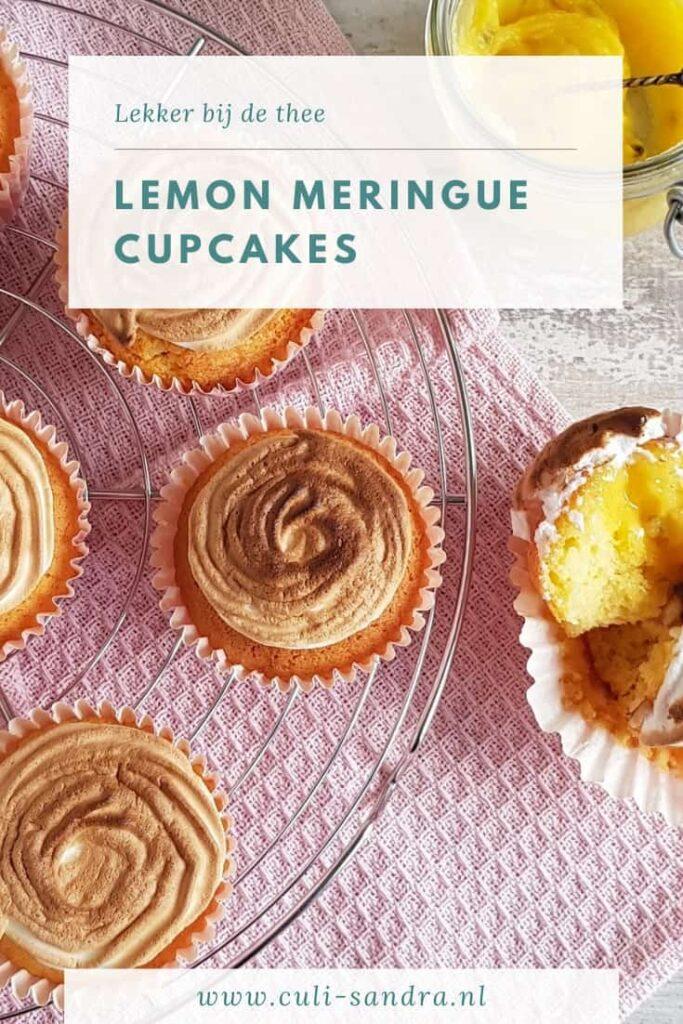 Recept citroen meringue cupcakes