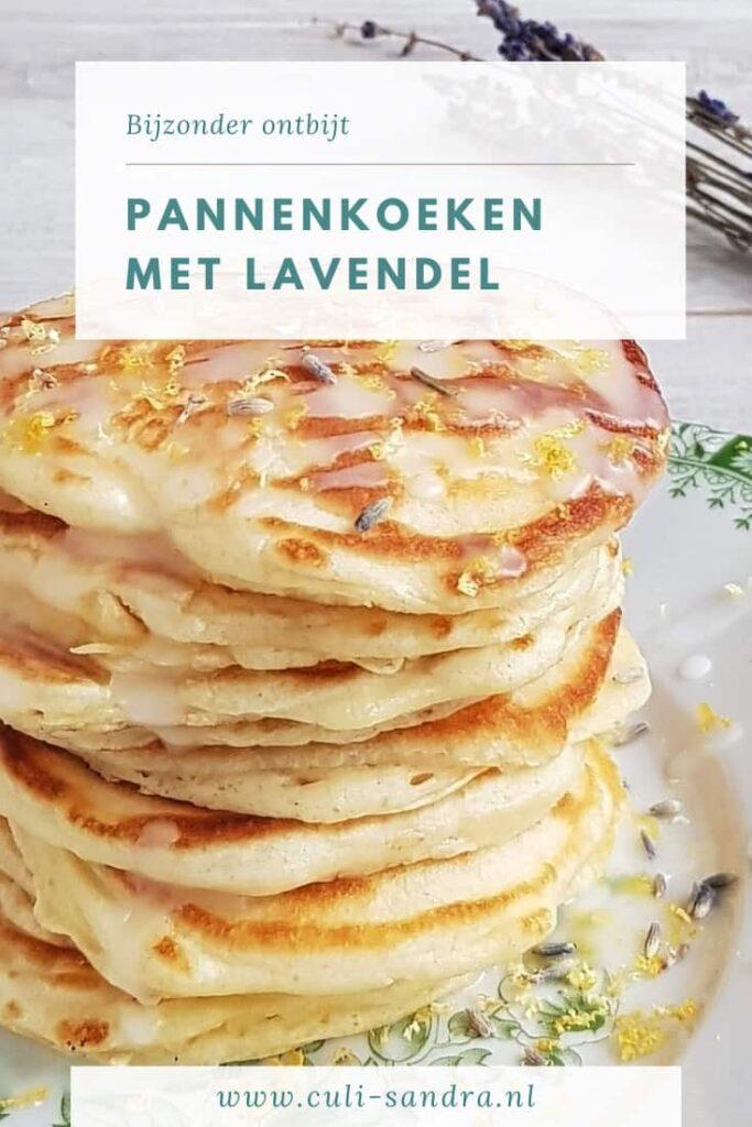 Recept lavendel pannenkoeken