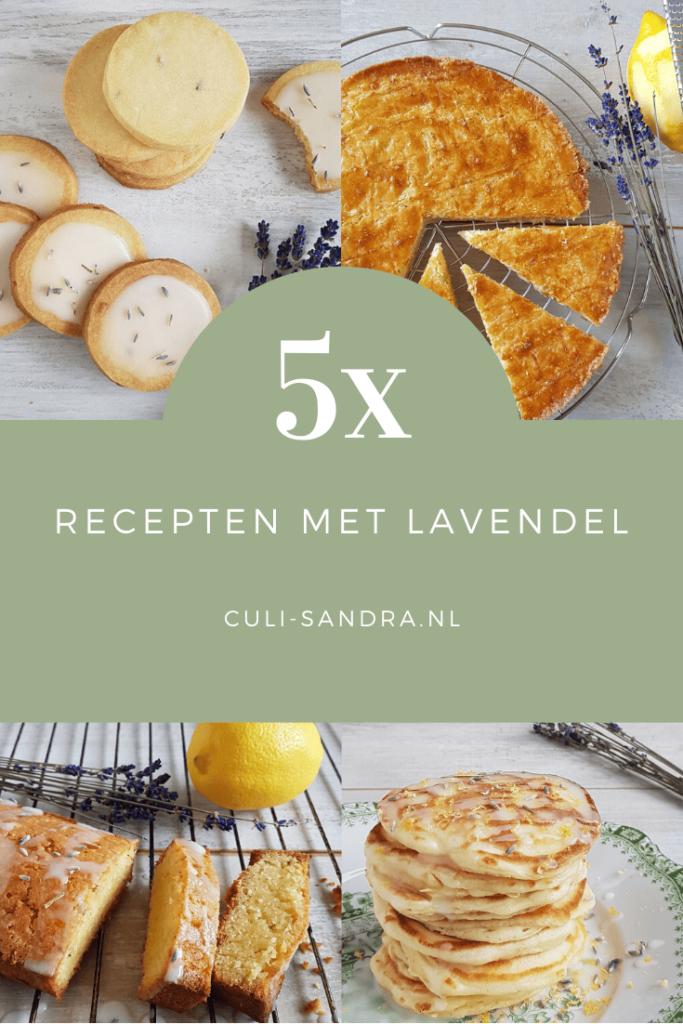 5x recepten met lavendel