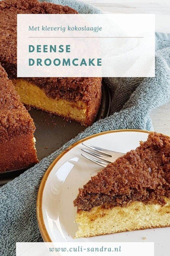 Recept Deense droomcake