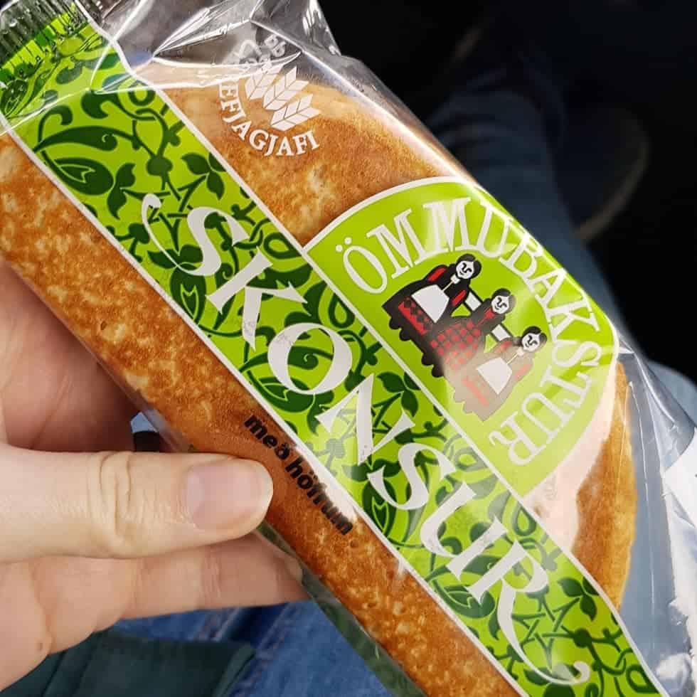 Goedkoop eten in IJsland - Skonsur als luch