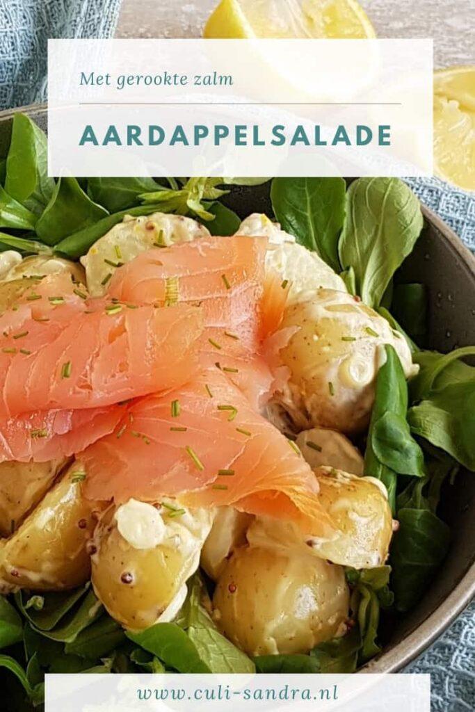Recept aardappelsalade met gerookte zalm