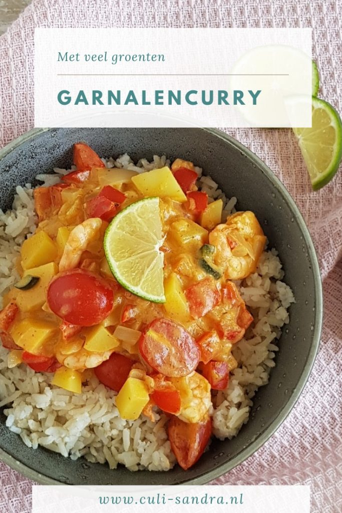 Recept garnalencurry