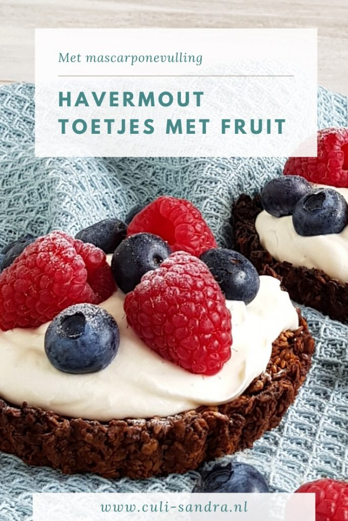 Recept havermout taartje