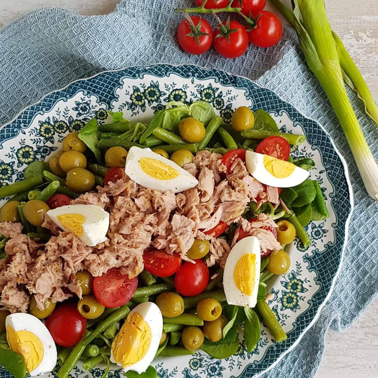 Maaltijdsalade: Salade niçoise