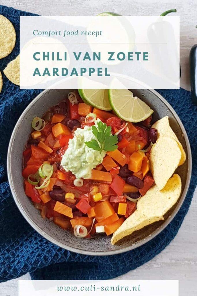Recept chili zoete aardappel