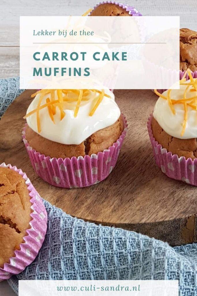 Recept carrot cake muffins