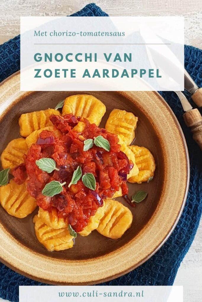 Recept gnocchi zoete aardappel