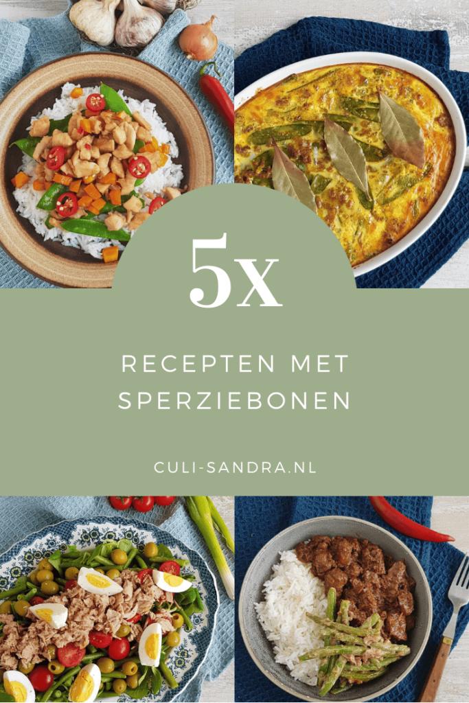 5x recepten met sperziebonen