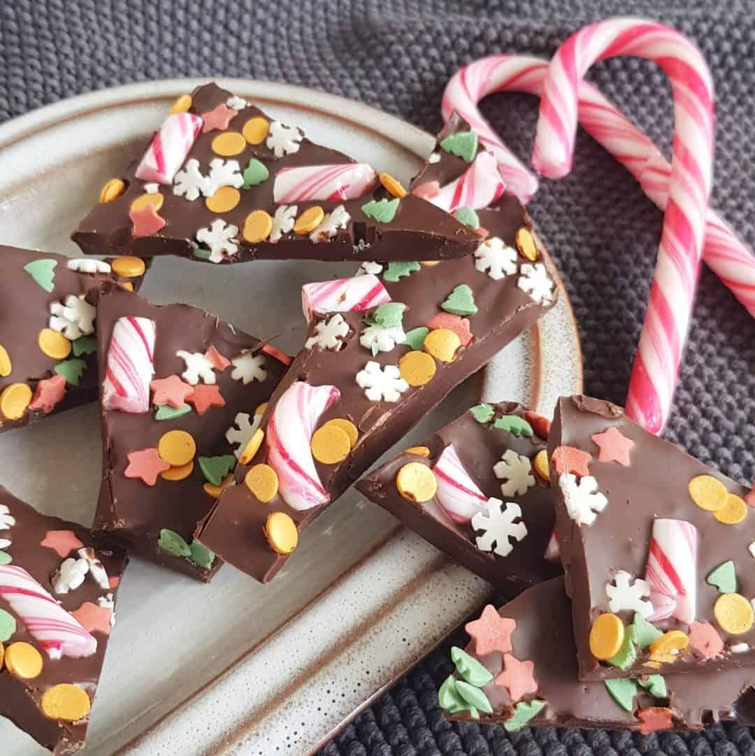 Kerstchocolade - Kerstbark