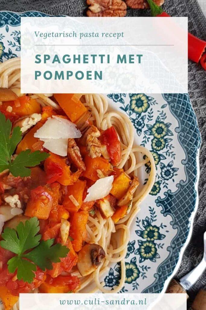 Recept spaghetti met pompoen