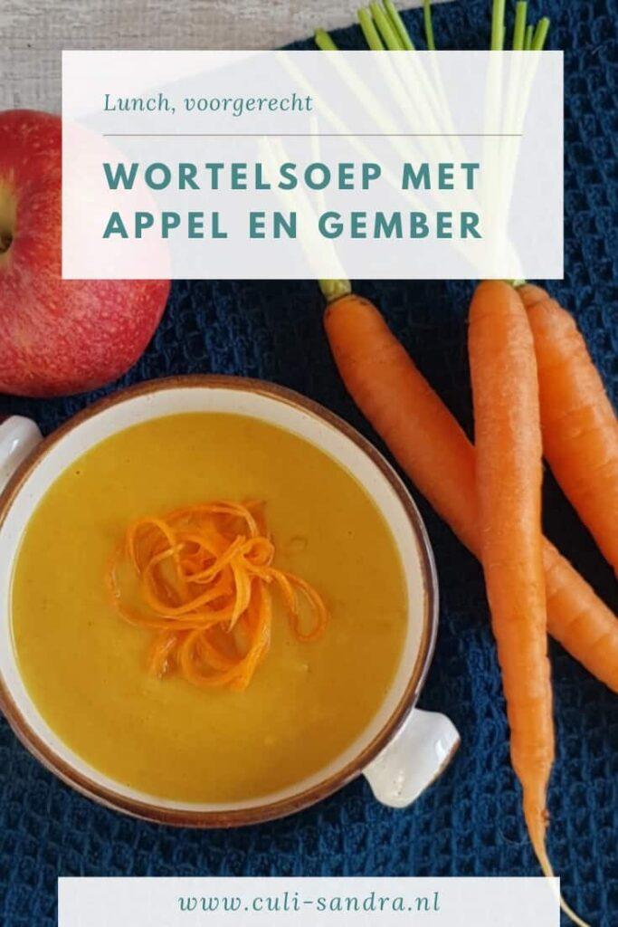 Recept wortelsoep
