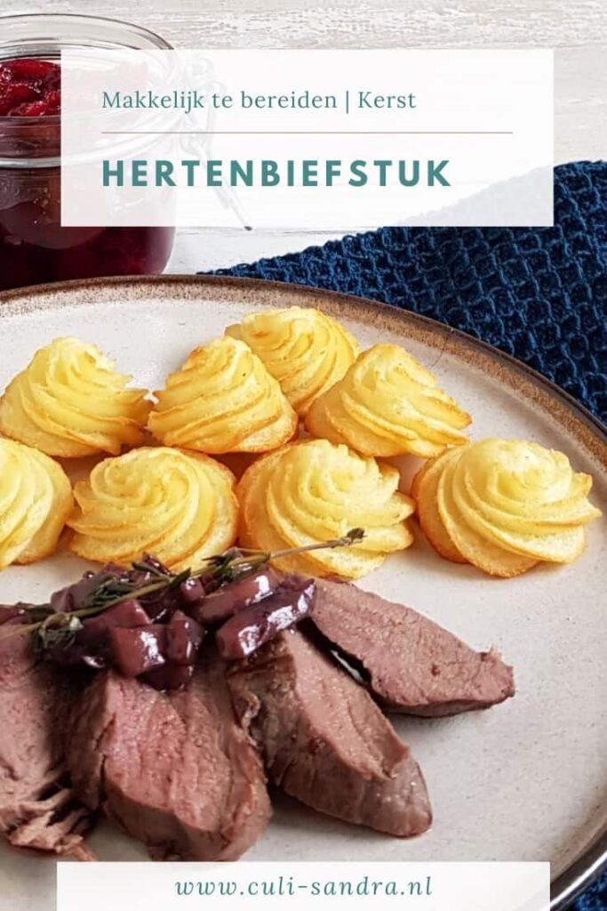 Recept hertenbiefstuk