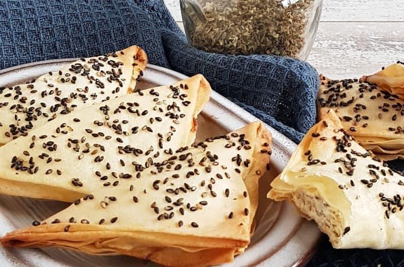 Kaashapjes uit de oven met feta