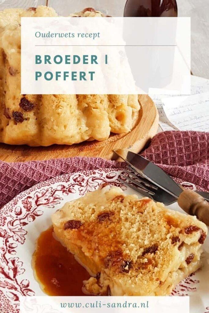 Recept poffer - broeder - ouderwets recept