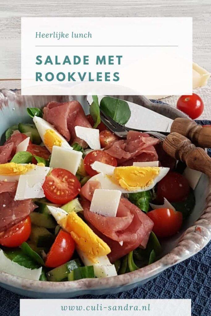 Recept rookvlees salade