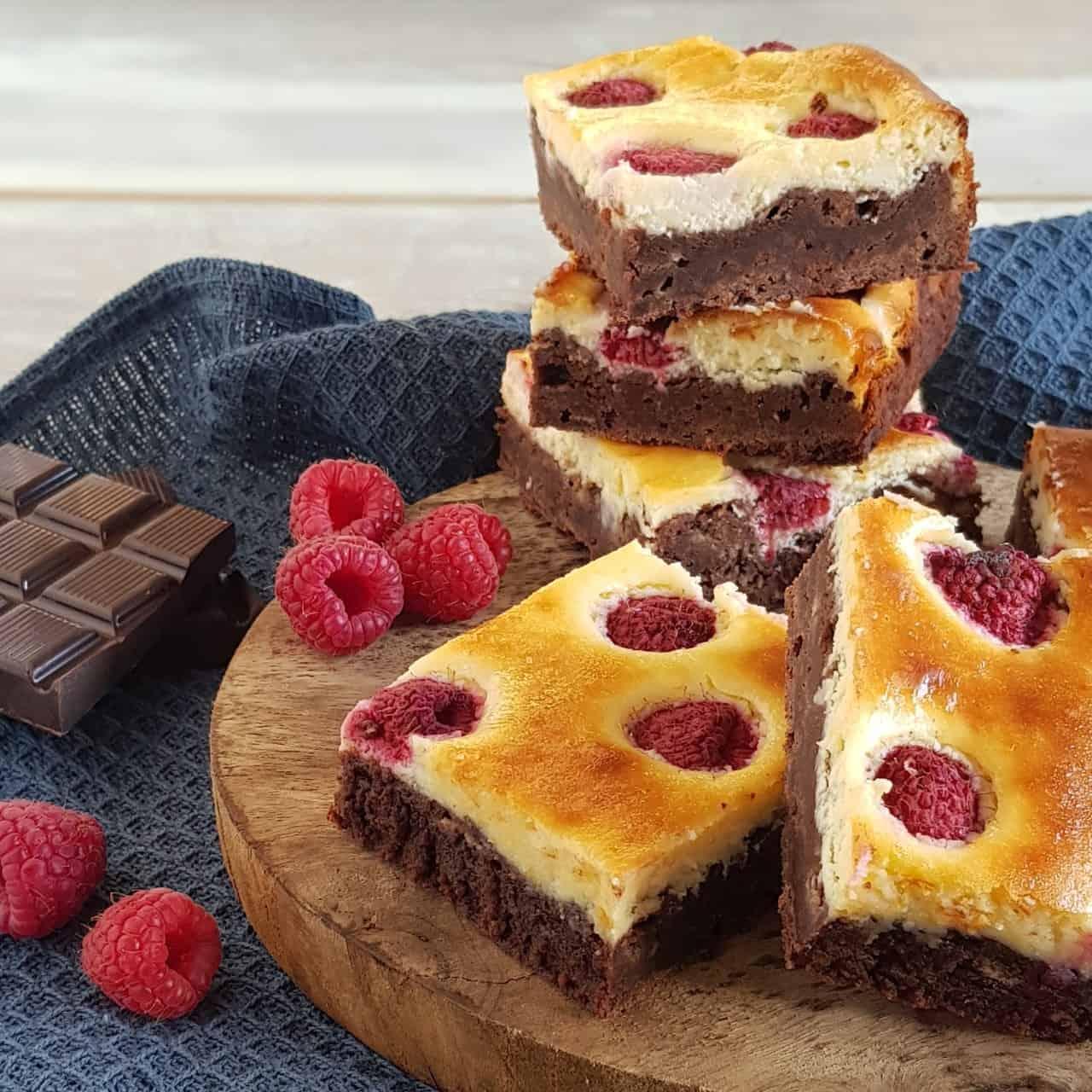 Cheesecake brownie