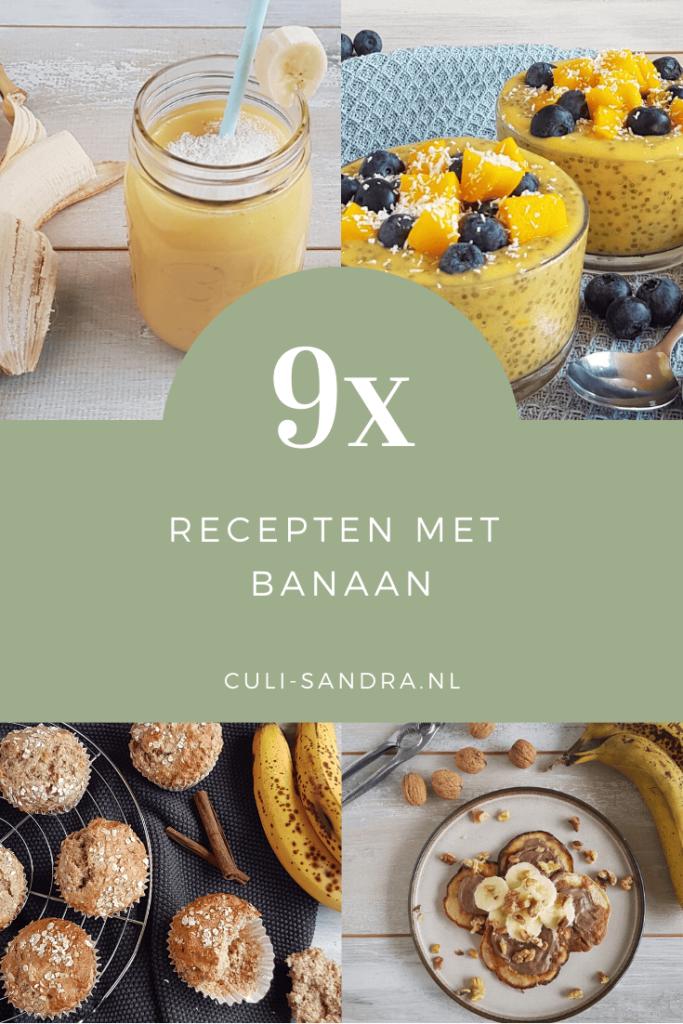 Recepten met banaan