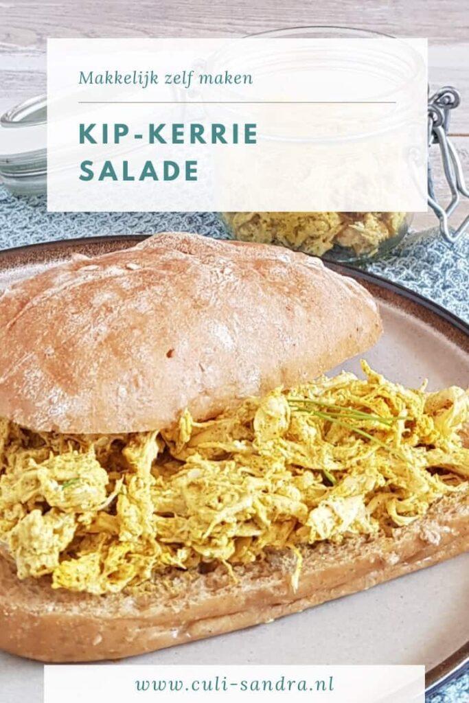 Recept kip-kerrie salade