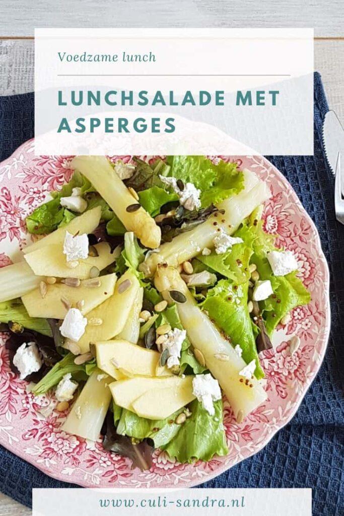 Recept salade met asperges