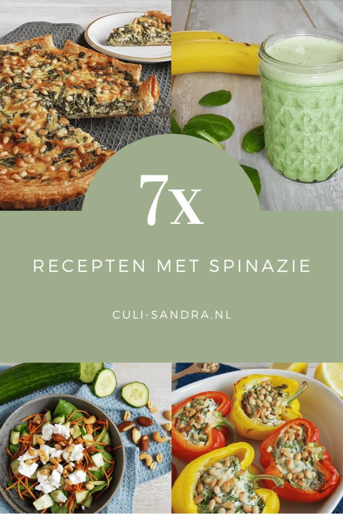 Recepten met spinazie