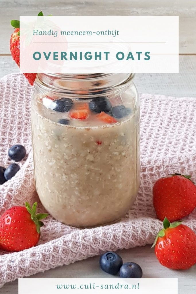 Recept overnight oats