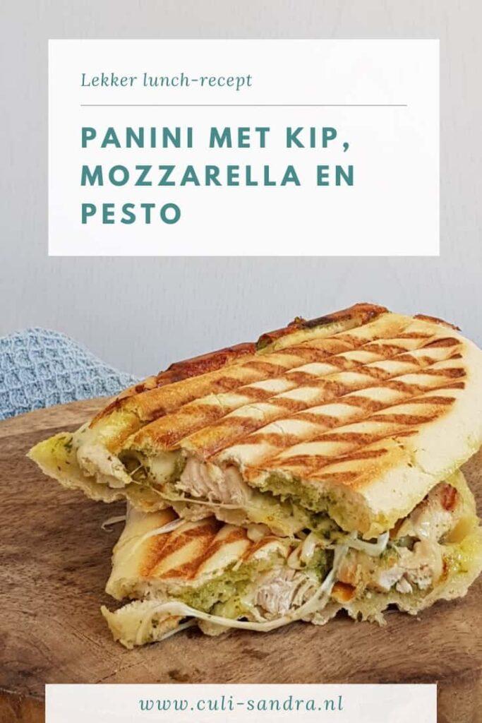 Recept panini met kip en mozzarella