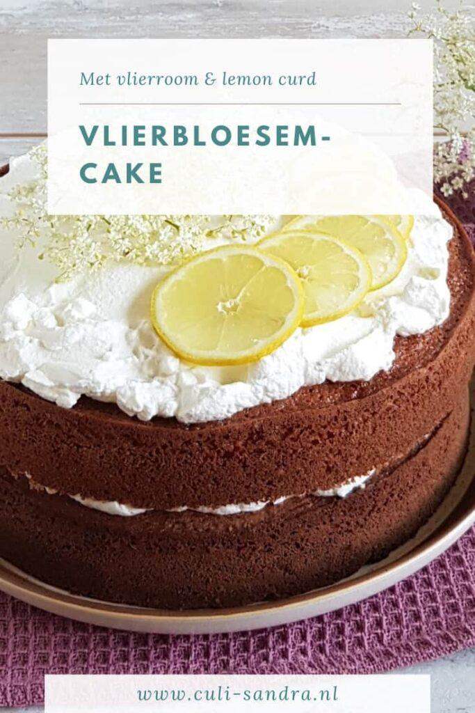 Recept vlierbloesemcake
