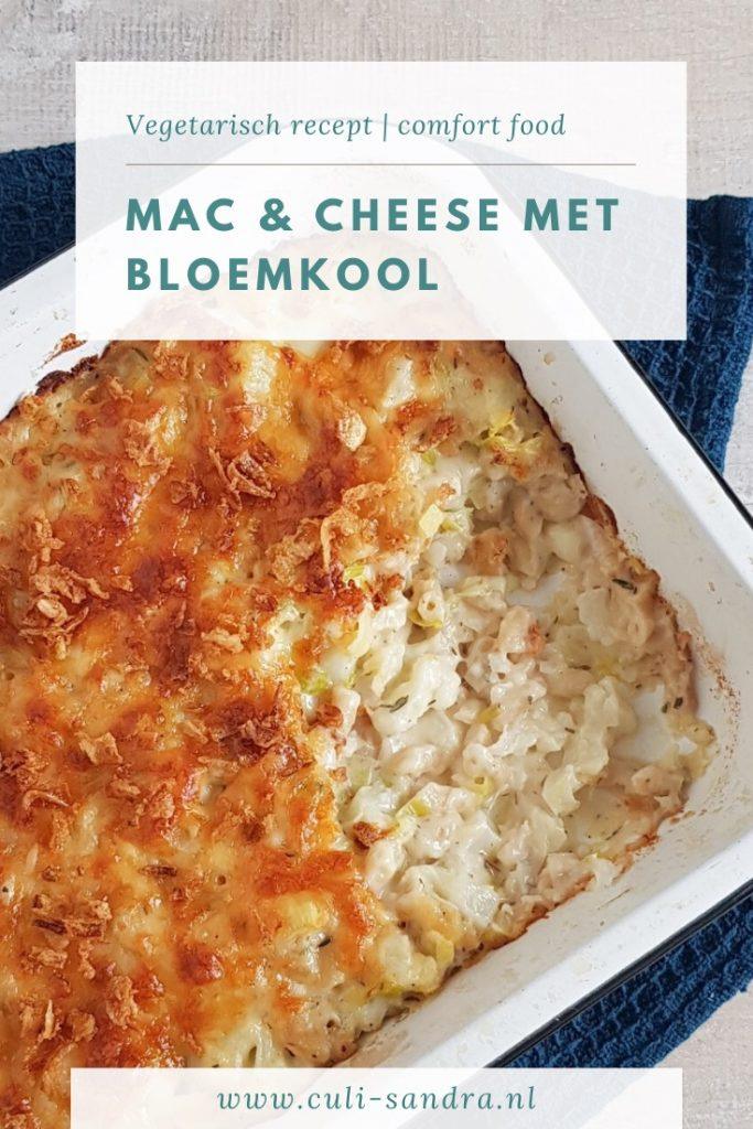 Recept Mac&Cheese met bloemkool