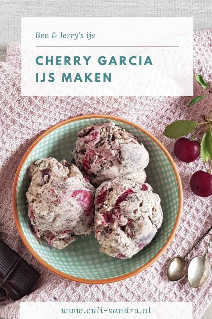 Recept Cherry Garcia ijs