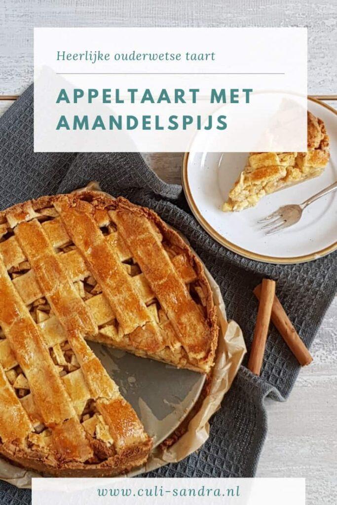 Recept ouderwetse appeltaart