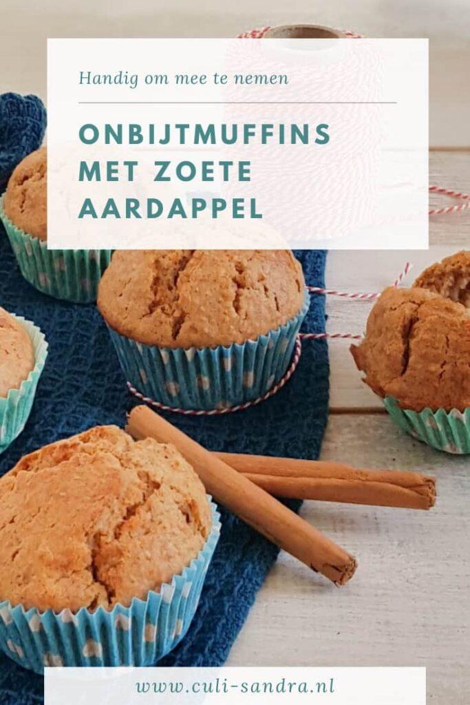 Recept ontbijtmuffins zoete aardappel